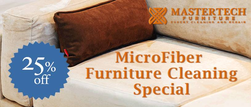 This is a good time to do some spring cleaning on cloth and microfiber furniture.