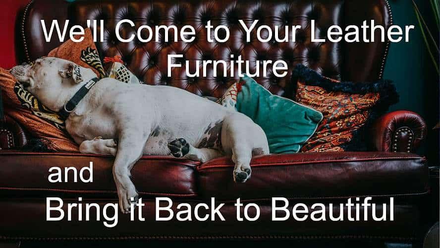 We Repair Leather Furniture
